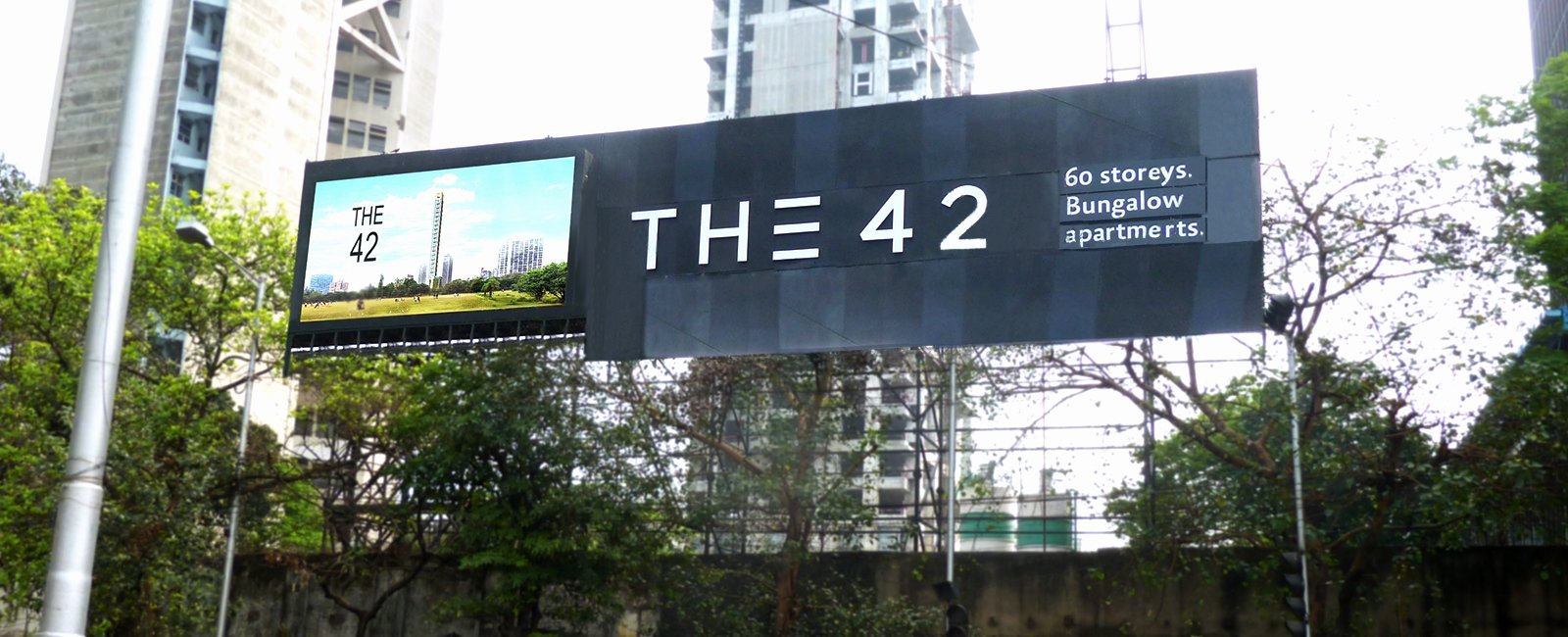 Outdoor LED display for Mani Group