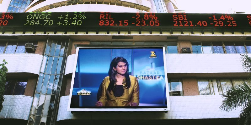 Outdoor LED display & ticker solution for BSE Mumbai